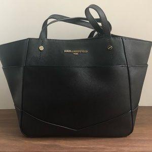 Karl Lagerfeld black tote bag.